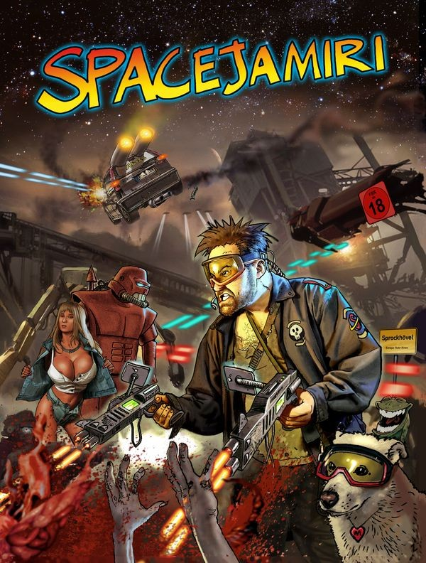 Cover des Comics Spacejamiri